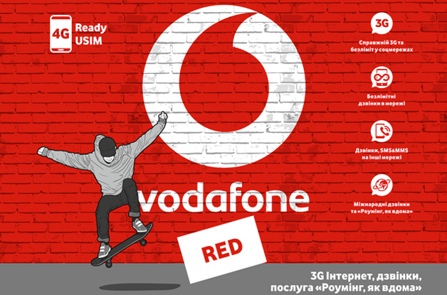 Vodafone Red Extra