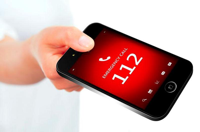 Вызов экстренных служб с мобильного